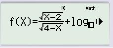 Bài tâp tìm tập xác định của hàm số lớp 10