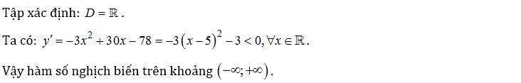 bài tập tính đơn điệu của hàm số