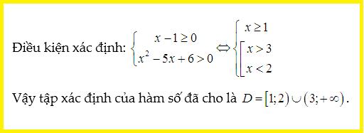 bài tập về tập xác định của hàm số lớp 10