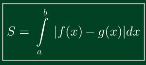 ứng dụng tích phân tính diện tích