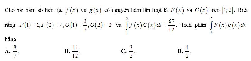 tích phân từng phần toán thầy định