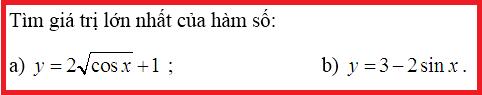 giải bài tập hàm số lượng giác lớp 11