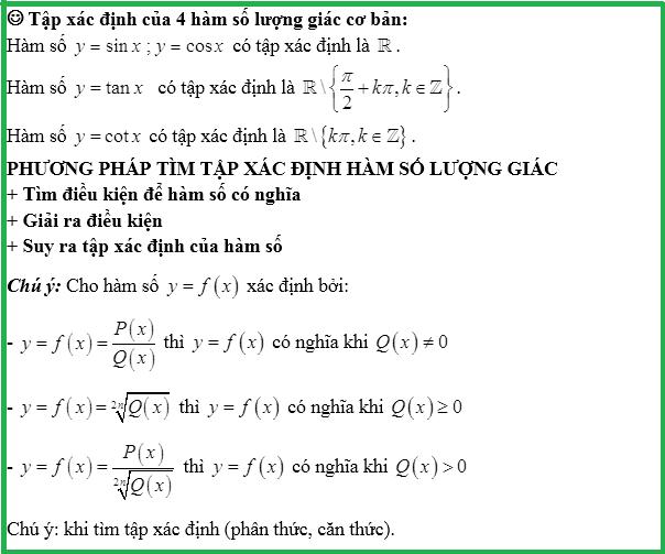 toán 11 hàm số lượng giác