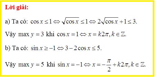 LỜI GIẢI Bài 8 -SGK Đại số và Giải tích 11-trang 18
