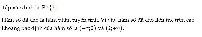 bài tập hàm số liên tục lớp 11