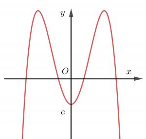 các dạng đồ thị hàm số bậc 4