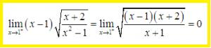 7 dạng vô định của giới hạn hàm số