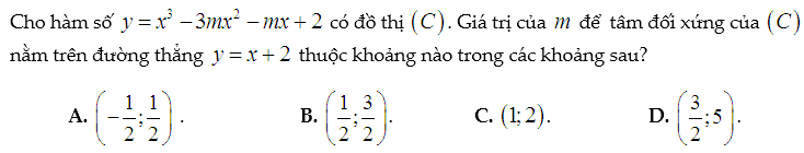 tâm đối xứng toán thầy định