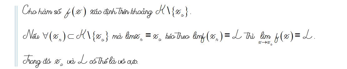 tìm lim của hàm số