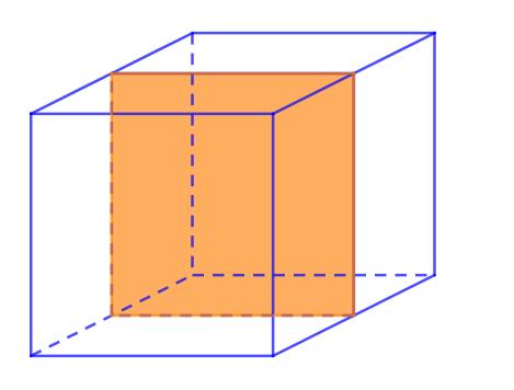 mặt phẳng đối xứng của hình lập phương