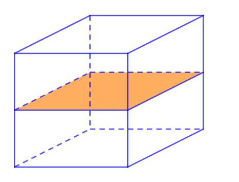 số mặt đối xứng của hình lập phương
