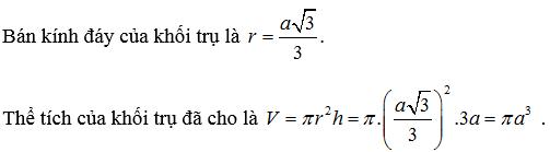 cách tính m3 hình tròn
