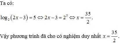 phương trình logarit trong đề thi đại học