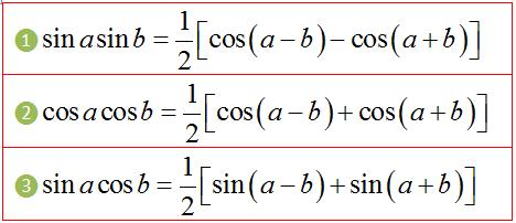 công thức tích thành tổng lượng giác